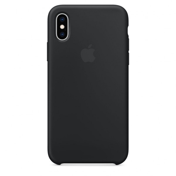 iPhone XS Silicone Case Black MRW72FE/A