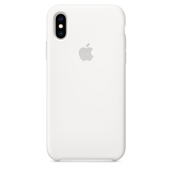 iPhone XS Silicone Case White MRW82FE/A