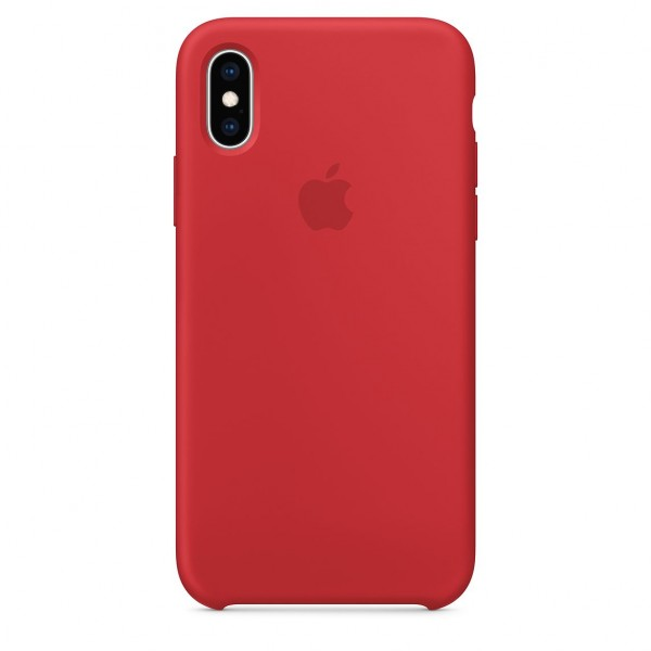 iPhone XS Silicone Case Red MRWC2FE/A