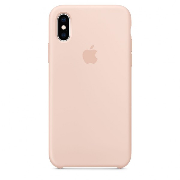 iPhone XS Silicone Case Pink Send MTF82FE/A