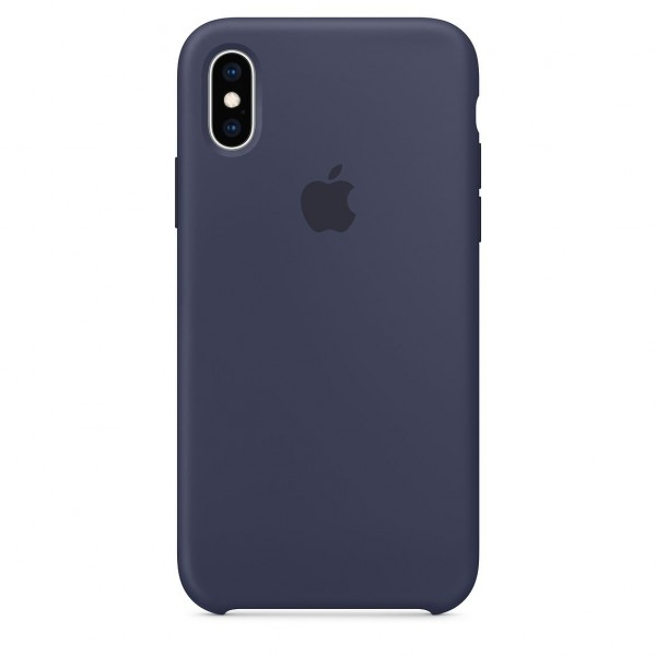 iPhone XS Silicone Case Midnight Blue MRW92FE/A