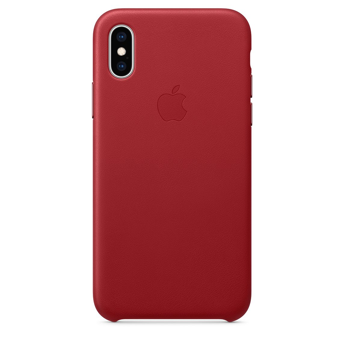iPhone XS Leather Case Red MRWK2FE/A