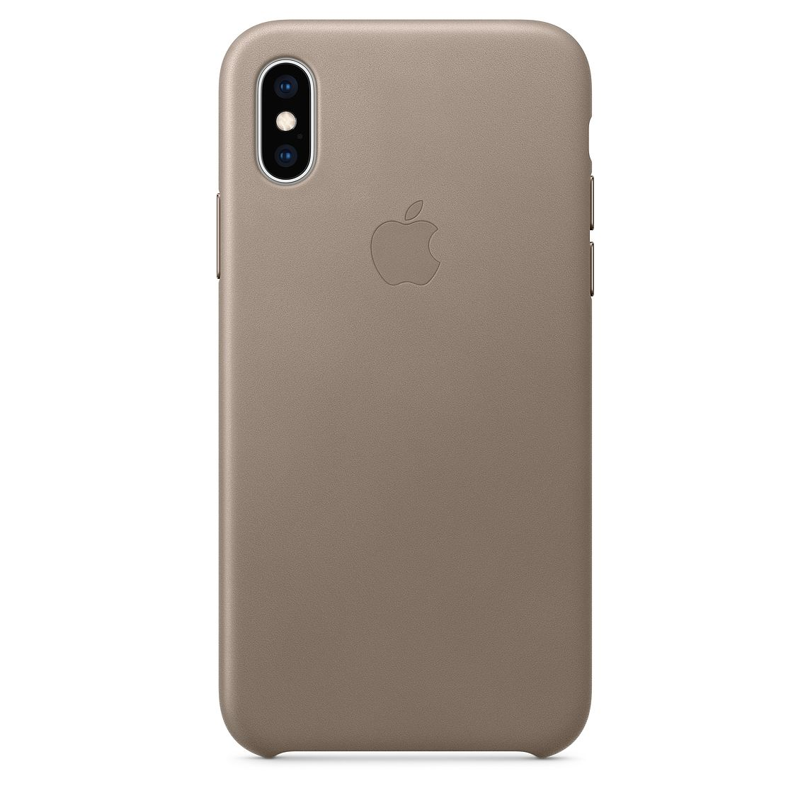 iPhone XS Leather Case Taupe MRWL2FE/A
