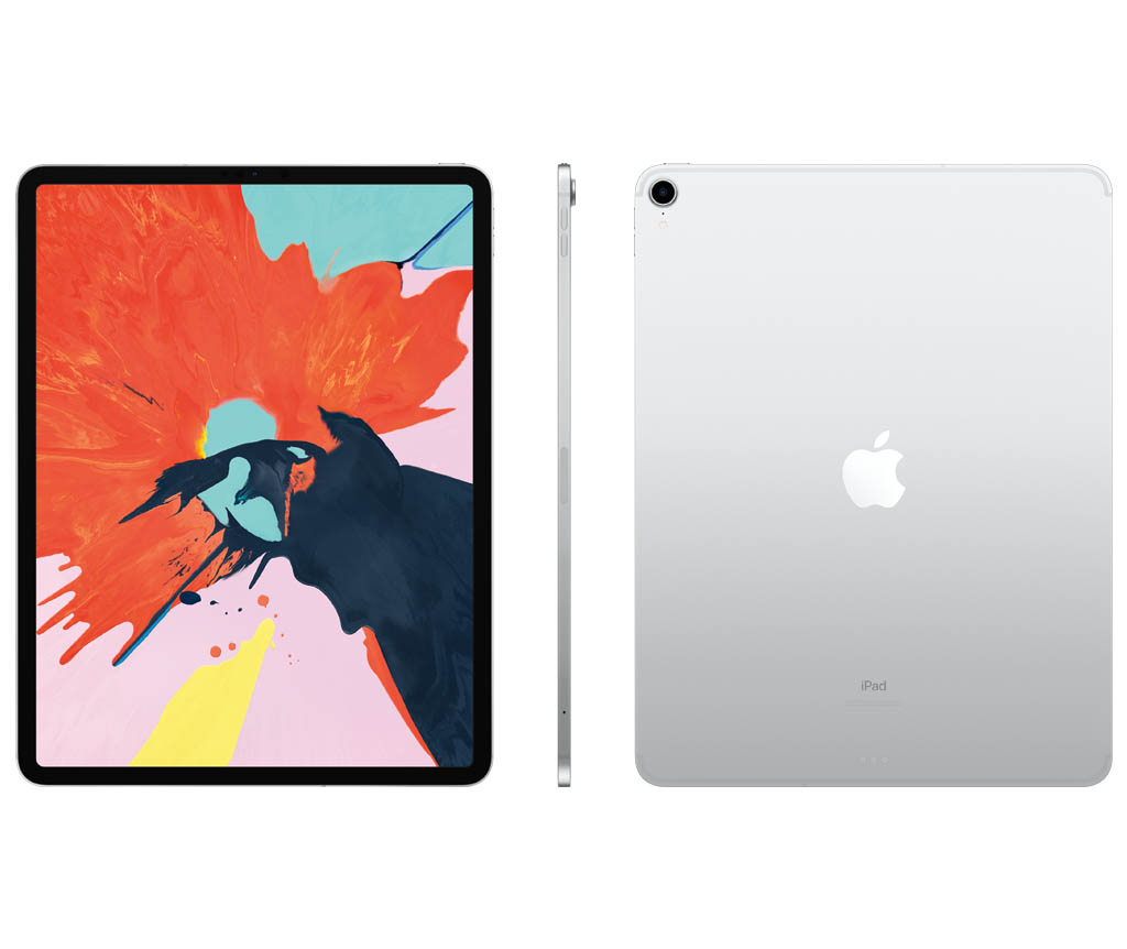 iPad Pro 12.9형 Wi-Fi + Cellular 1TB 실버 MTJV2KH/A