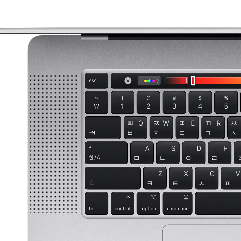 2019 MacBook Pro 16형 2.3GHz 8C/16GB/1TB/Touch Bar 실버 MVVM2KH/A