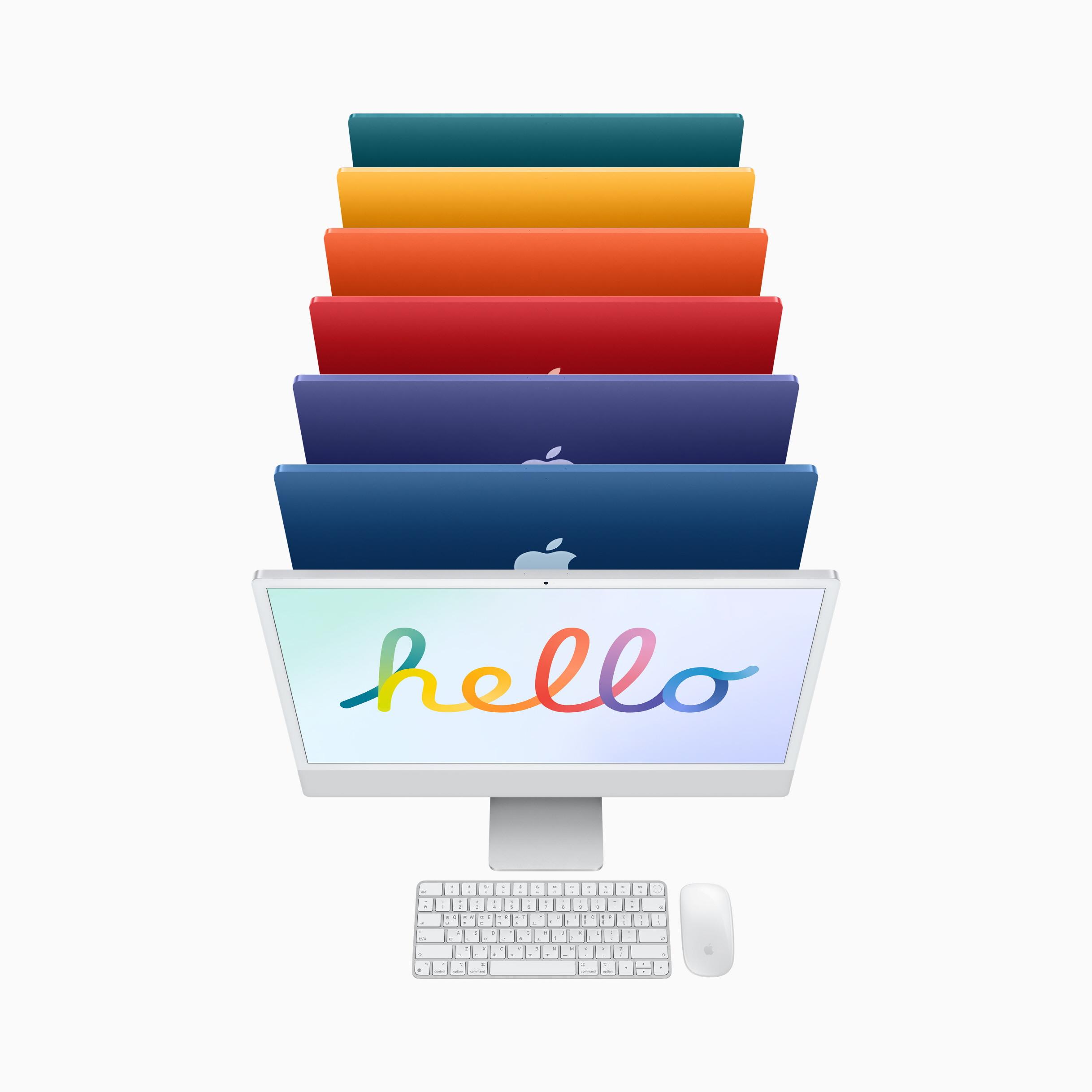 iMac 24 8C CPU/8C GPU/8GB/256GB 그린 MGPH3KH/A
