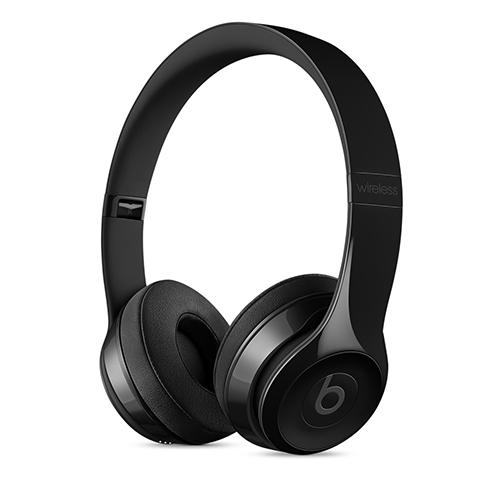 Beats Solo3 Wireless 헤드폰 - 유광블랙 MNEN2PA/A