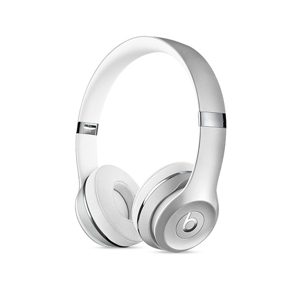 Beats Solo3 Wireless 헤드폰 - 실버 MNEQ2ZP/A