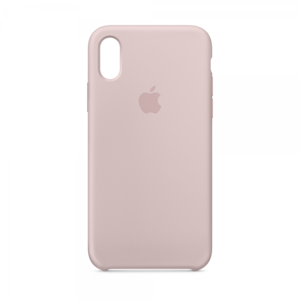 iPhone X Silicone Case Pink Sand MQT62FE/A